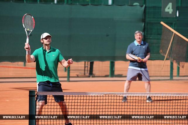 Второй Дипломатический турнир по теннису состоялся в Минске