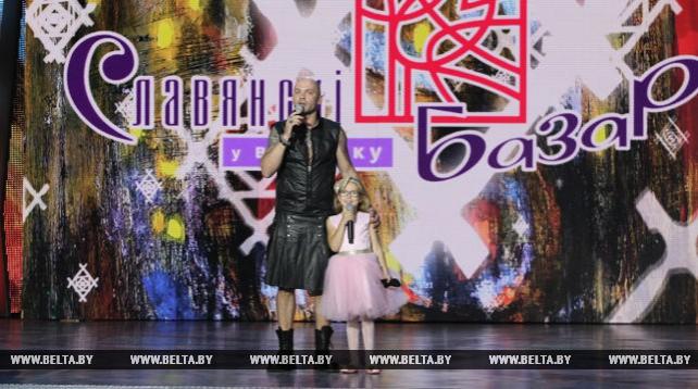 """Торжественное закрытие фестиваля """"Славянский базар в Витебске"""" состоялось в Летнем амфитеатре"""