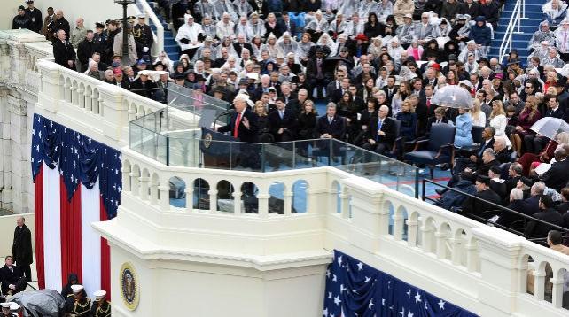 Трамп вступил в должность 45-го президента США