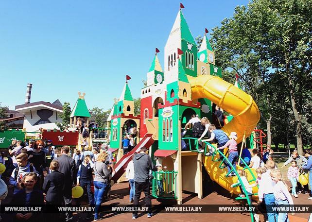 Детский городок торжественно открылся в парке Дружбы народов