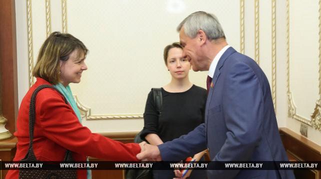 Андрейченко встретился с Чрезвычайным и Полномочным послом Великобритании и Северной Ирландии