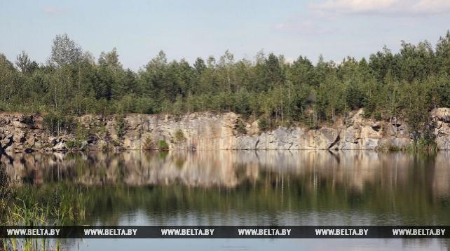 Гранит из Лельчицкого района используется для отделочных работ в Минском метрополитене
