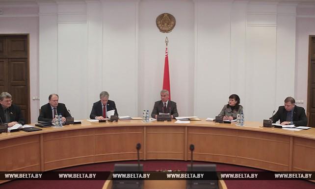 Состоялось заседание Совета Палаты представителей