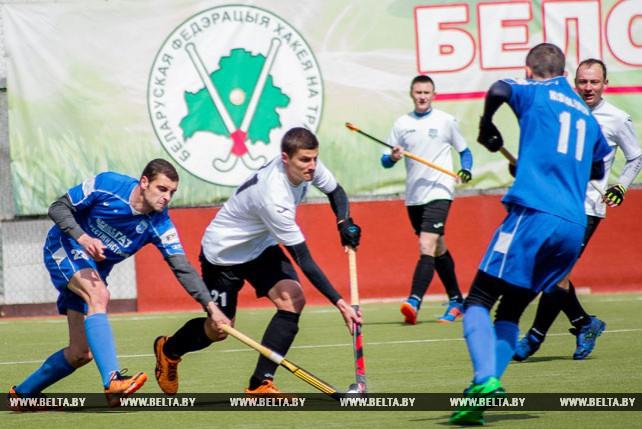 В Бресте завершился первый этап Кубка Содружества по хоккею на траве среди мужских команд
