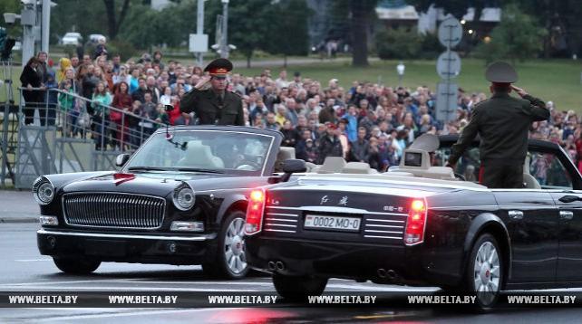 В Минске прошла генеральная репетиция парада в честь Дня Независимости