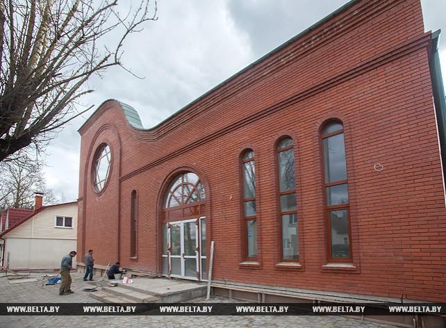 В Витебске завершается строительство первой за последние сто лет синагоги