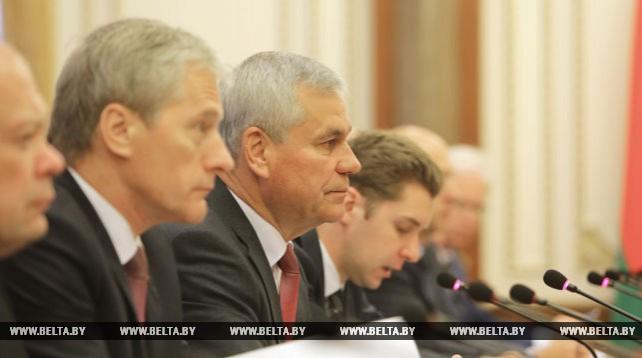 Владимир Андрейченко встретился с председателем Национальной ассамблеи Судана Ибрагимом Ахмедом Омером