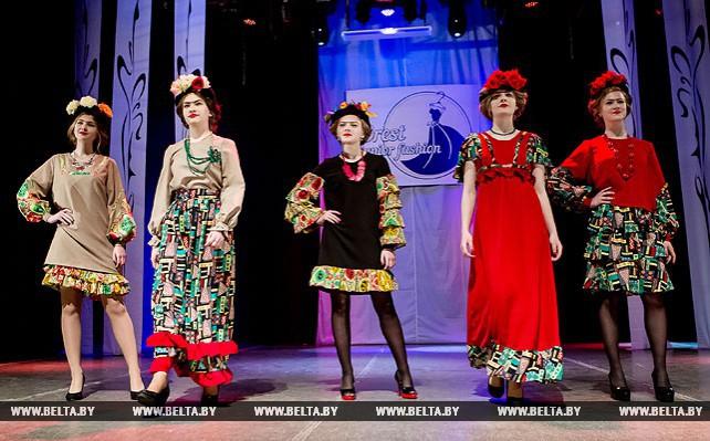 В Бресте прошел фестиваль-конкурс юных модельеров