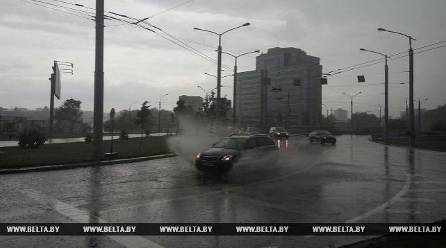 Гроза в Минске