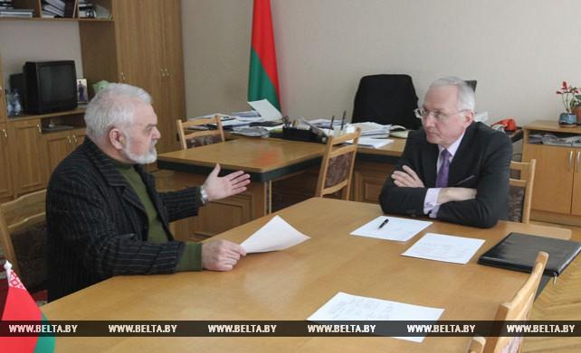 Борис Светлов провел прием граждан
