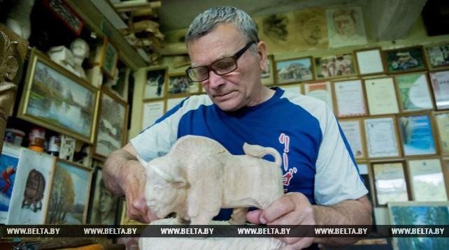 Анатолий Турков - народный мастер Беларуси из Каменца