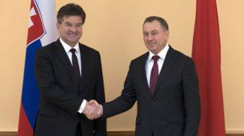 Макей провел переговоры с главой МИД Словакии