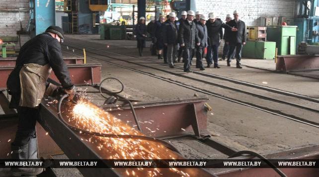 Анфимов совершил рабочую поездку в Молодечненский район