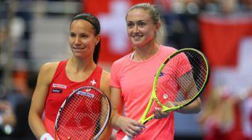 Александра Саснович победила швейцарку Викторию Голубич во встрече Кубка Федерации