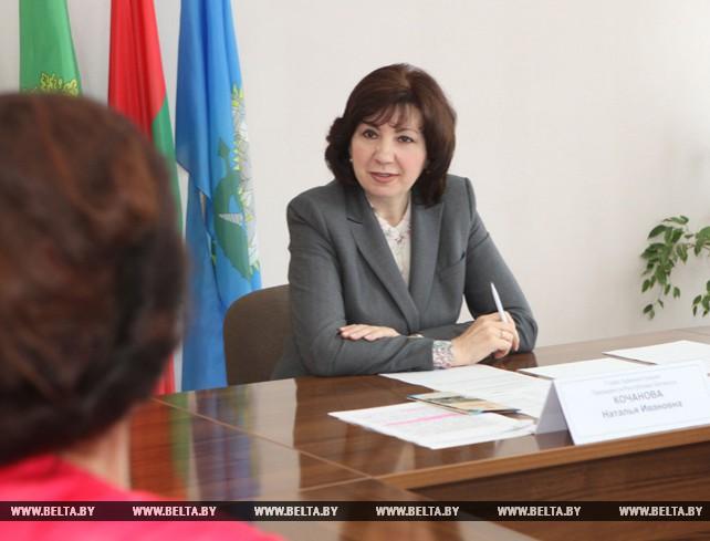 Кочанова провела прием граждан в Шумилинском райисполкоме