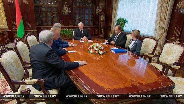 Подходы к возможному возобновлению белорусско-российского сотрудничества в калийной сфере обсуждены на встрече у Лукашенко