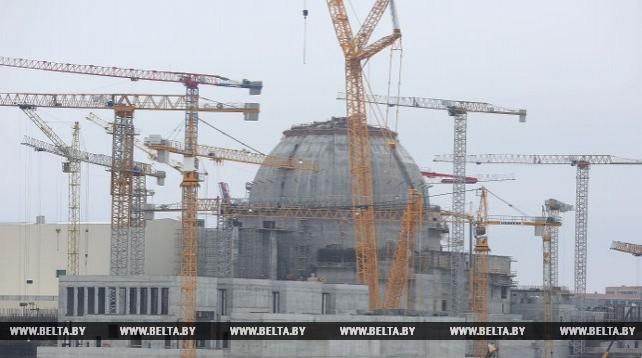 На БелАЭС готовятся к монтажу корпуса реактора