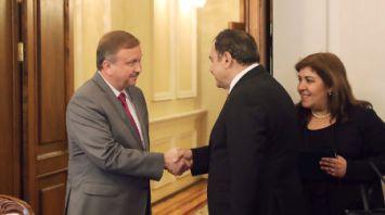 Кобяков встретился с министром лесного хозяйства и водных ресурсов Турции