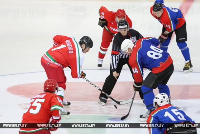 Команда Президента вышла в финал Х Республиканских соревнований любителей хоккея