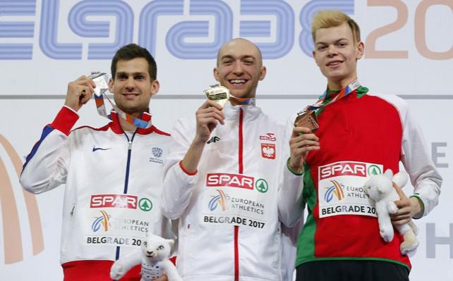 Белорус Павел Селиверстов стал бронзовым призером ЧЕ по легкой атлетике в Белграде