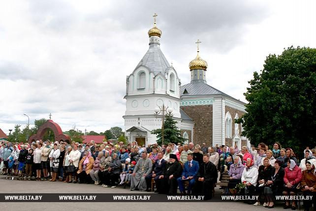 Храм в честь Святого Духа в Гродненском районе отметил 150-летие