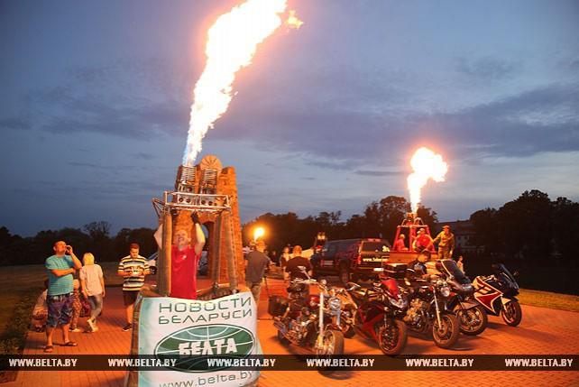 Фестиваль тепловых аэростатов стартовал в Орше