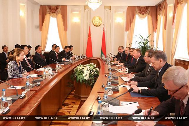 Кобяков встретился с председателем Постоянного комитета Всекитайского собрания народных представителей