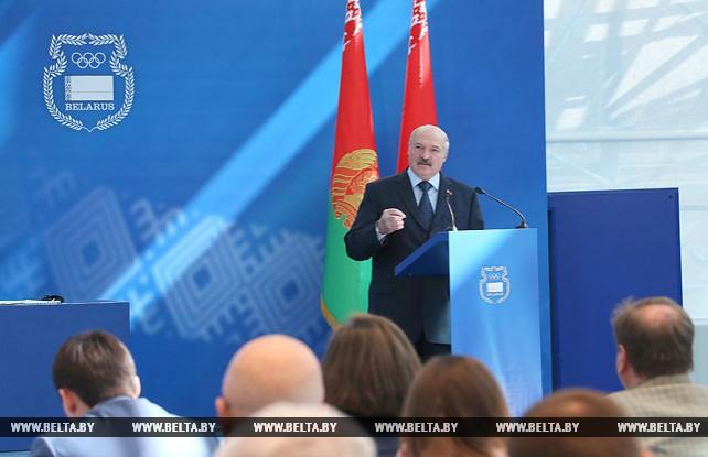 Лукашенко провел в Минске Олимпийское собрание НОК