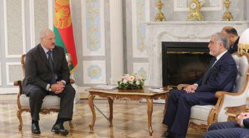 Лукашенко встретился с премьер-министром Афганистана Абдуллой Абдуллой