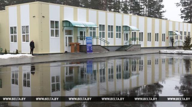 Новое здание учебного центра Института пограничной службы построено по проекту ЕС-ПРООН