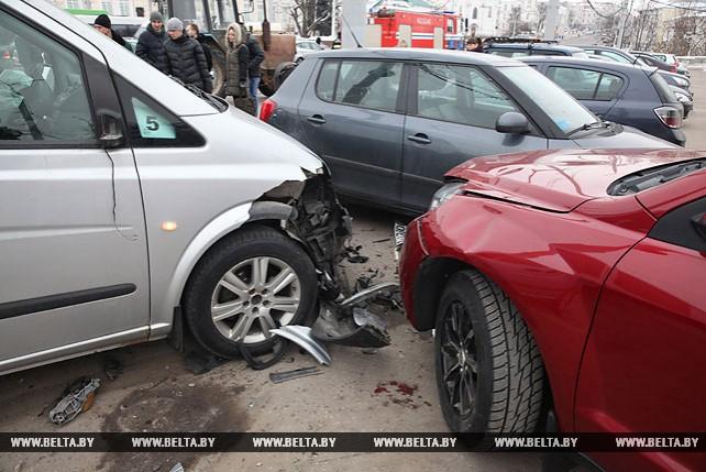 Крупное ДТП произошло в Витебске