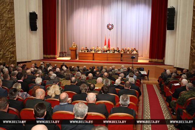 IX съезд Белорусского союза ветеранов войны в Афганистане прошел в Минске