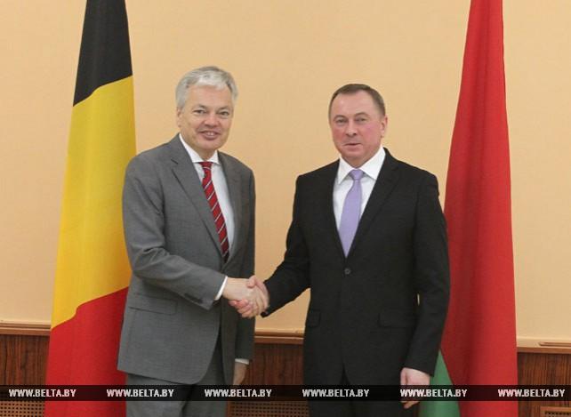 Макей провел переговоры с заместителем премьер-министра - министром иностранных дел Бельгии Дидье Рейндерсом