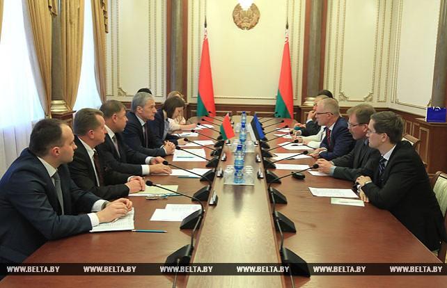Пирштук встретился с парламентской делегацией Эстонии
