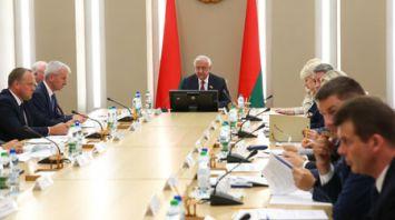 Расширенное заседание Президиума Совета Республики Национального собрания Республики Беларусь прошло в Минске