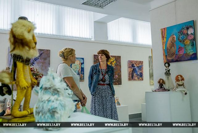 "В Бресте открылась выставка авторских кукол ""Панна Doll'я"""
