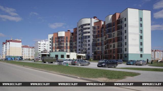 В Островце в 2016 году было введено в строй 12 жилых домов