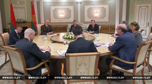 Лукашенко встретился с первым вице-президентом ЕБРР Филиппом Беннеттом