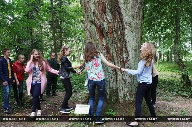 """Лесной образовательный экоцентр работает в старинном парке """"Горни"""" Лидского района"""