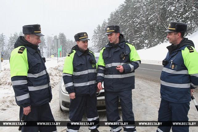 """""""Стрела"""" регулярно патрулирует белорусские дороги"""