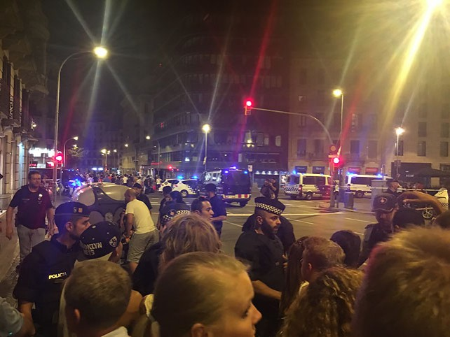 В Барселоне произошел теракт