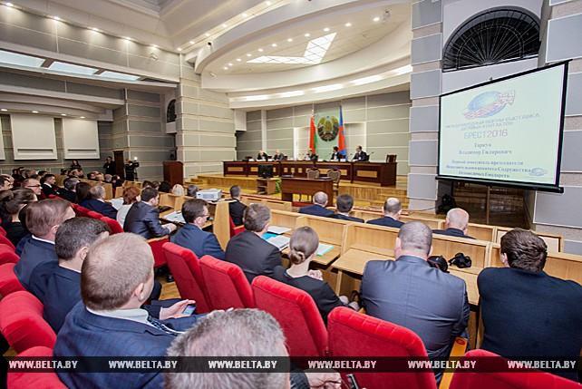 Международный форум деловых контактов проходит в Бресте