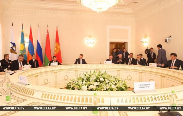 Заседание Евразийского межправительственного совета в узком составе прошло в Казани