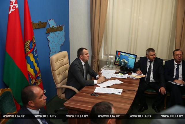 Регионы Беларуси приняли участие в селекторном совещании по уборке урожая