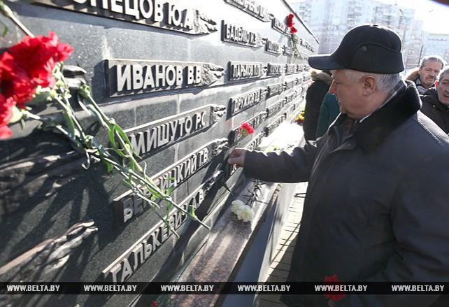 Память воинов-интернационалистов почтили в Витебске
