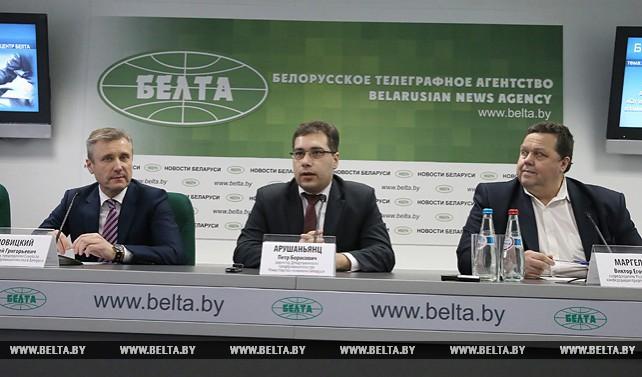 Брифинг по итогам Ассамблеи деловых кругов прошел в пресс-центре БЕЛТА