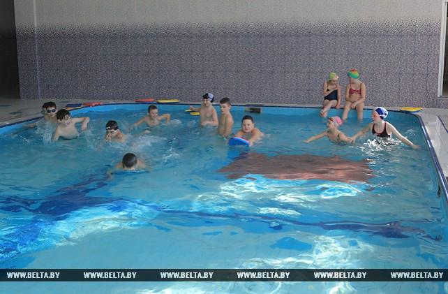 В Краснополье готовится к открытию вторая очередь физкультурно-оздоровительного комплекса