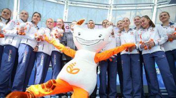 Проводы белорусской делегации на XIV летний Европейский юношеский олимпийский фестиваль
