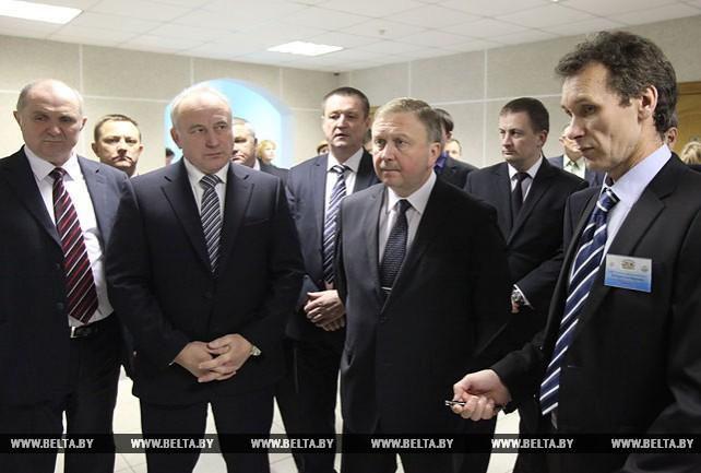 Кобяков посетил Глубокский мясокомбинат