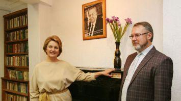Столетие со дня рождения Пимена Панченко отметили в музее поэта